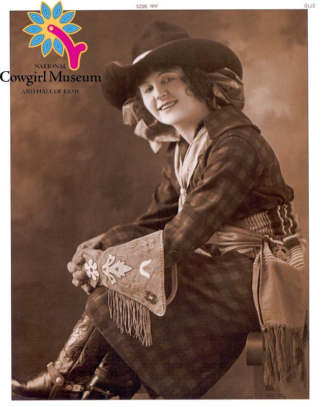 Bonnie Mccarroll Cowgirl Hall Of Fame Amp Museum